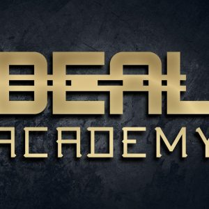 deal academy logo gold